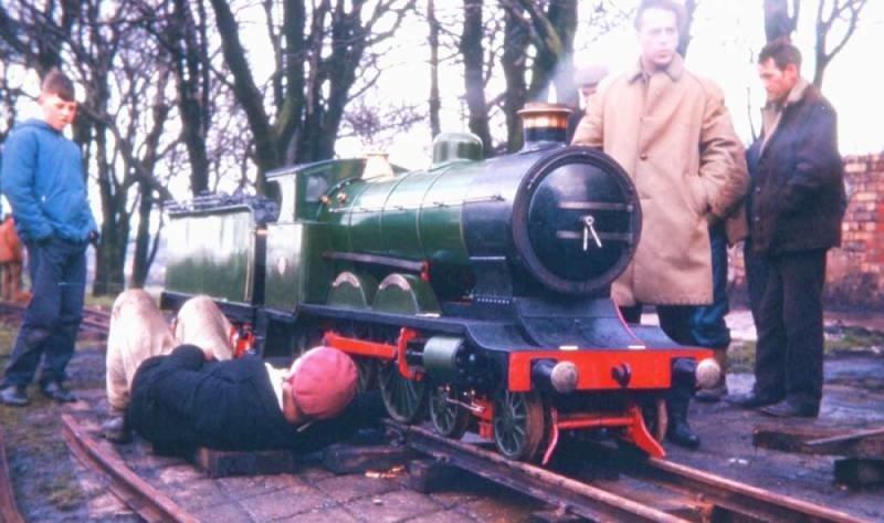 Original Basset-Lowke 15in gauge Little Giant
