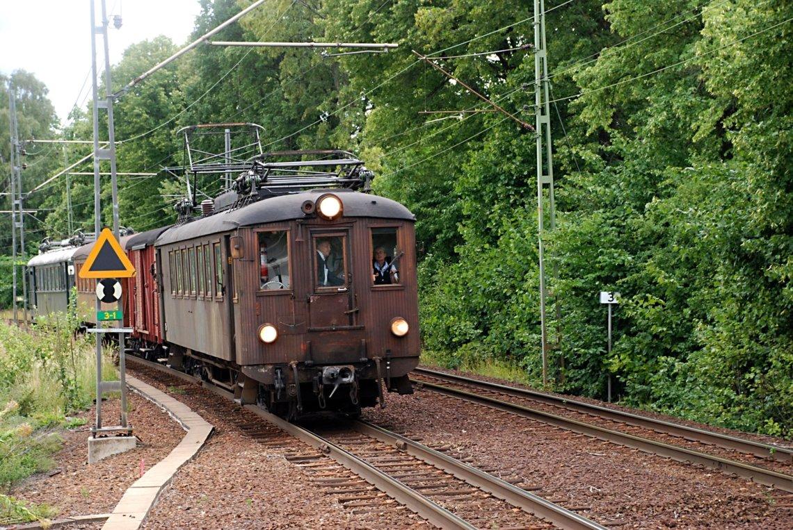Railcar 35 (1934) at Frescati