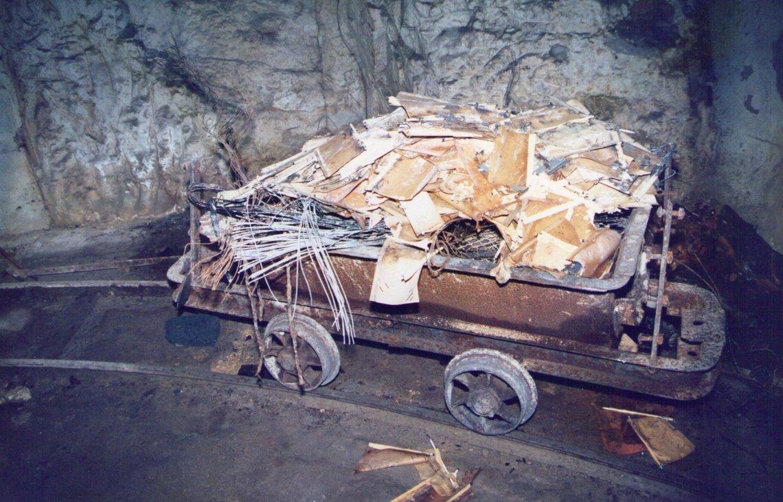 Rubbish wagon