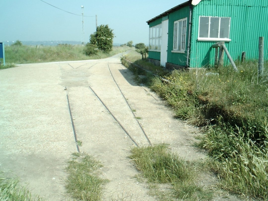 Track remains