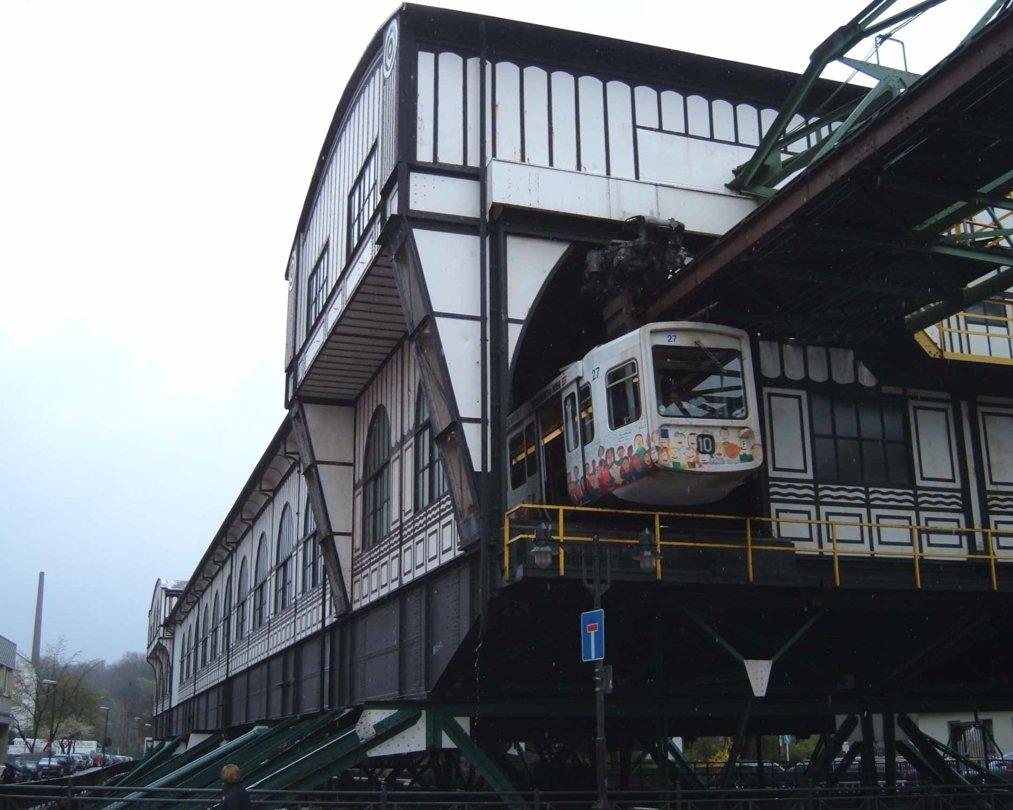 Oberbamen Bahnhof