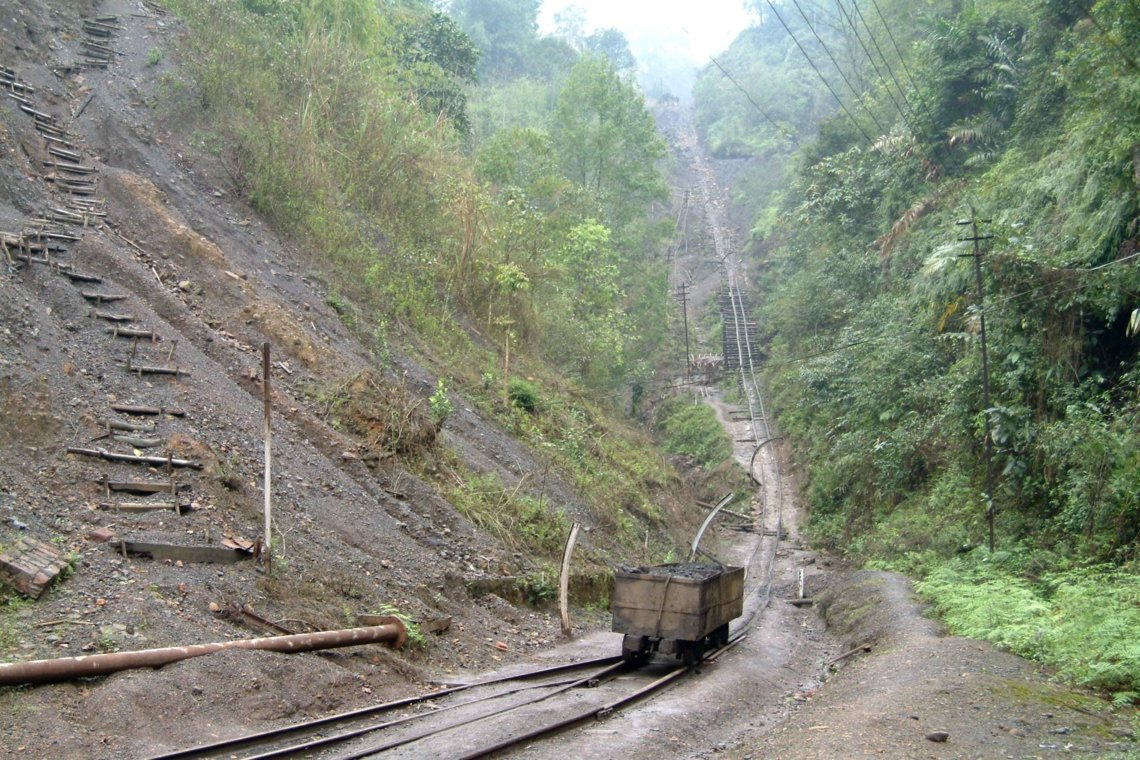 Cable incline