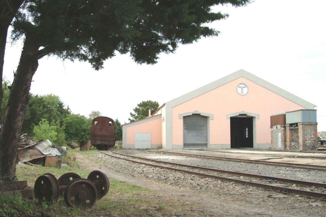 Mandas engine shed