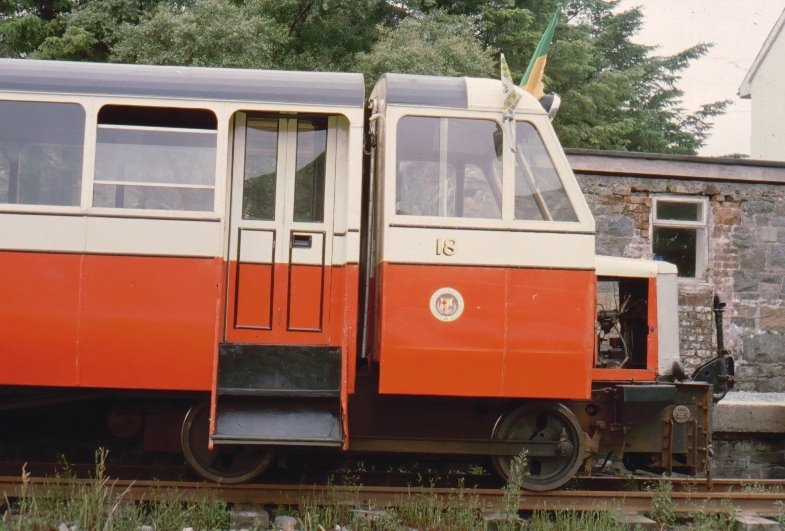 Co. Donegal Railcar #18 at Fintown