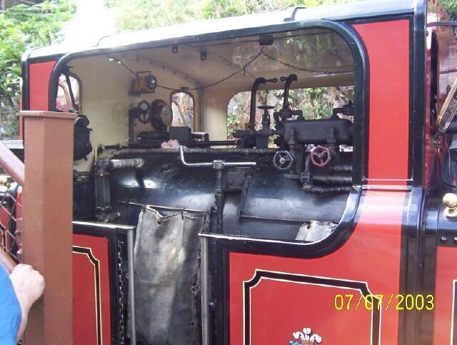 David Lloyd George cab detail