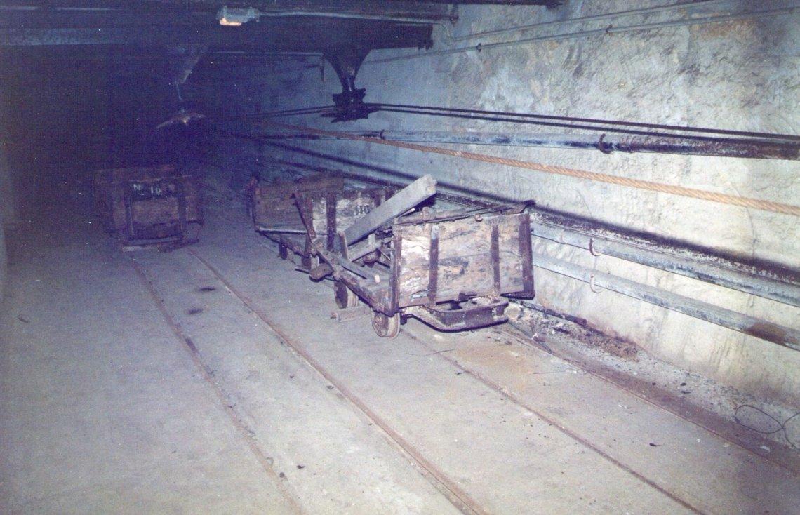 Decrepit wagons