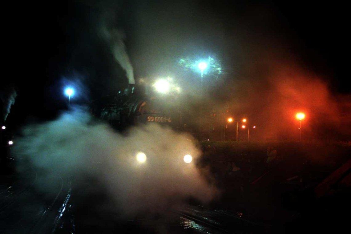 Steamy night