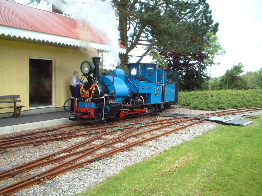 No 19 simmering at the station