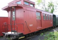 Ex SR&RL caboose  #557