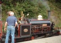 Lilian at Newmills Station