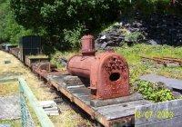 Derelict rolling stock