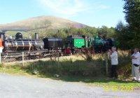 Garratts 138 & 143 at Waunfawr