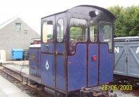 """Glaslyn"" at Porthmadog station"