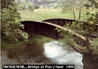original NWNG Bridge at Plas y Nant