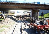 Constructing Beaver Station loop
