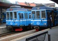 Modern Railcars in Stockholm