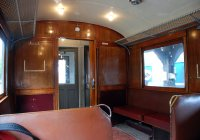 Interior of Electric Railcar 35