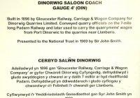 Dinorwig coach information