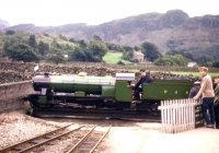 River Esk on turntable