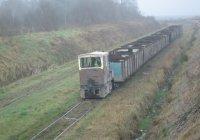 4wDH loco on a peat train