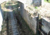 Former canal lock gates