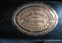 Saloon Coach Builders Plate