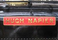 Hugh Napier Name Plate