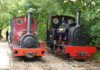 Two Locos awaiting their turn