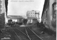 Coal yard at Gandia