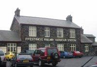 Ffestiniog station at Porthmadog