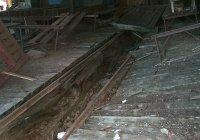 Rotten flooring