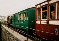 Palmerston leaving Minffordd