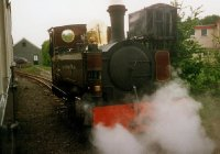 Russell in steam