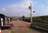 Leadhills Station.
