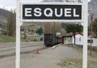 Train at Esquel