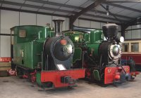 "2'6"" gauge locos at Bredgar"