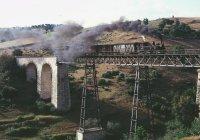 E165 on Romeu viaduct