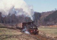 Train near Wolkenstein
