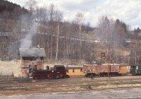 Freight train at Steinbach