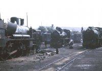 Ponferrada loco yard
