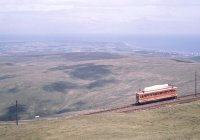 Near Snaefell summit