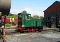 Diesel No. 10 at Aberystwyth