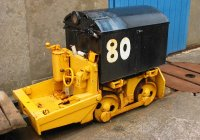 Battery electric loco 13.