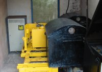 Loco with battery unit removed