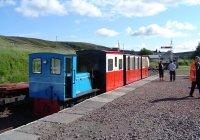 Clyde & train