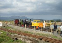 Collecting the works train