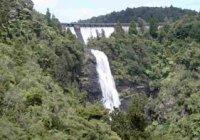 Waitakere Dam & Falls in Flood