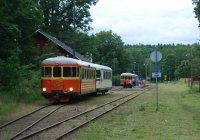 Trains at Ankarsrum