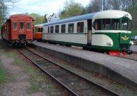Trains at Verkebäck