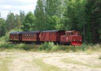 Diesel train at Änghult